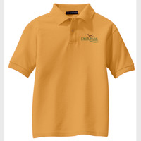Adult Cotton Embroidered Polo