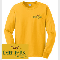 Adult Cotton Long Sleeve T-Shirt